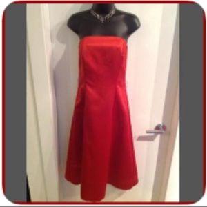 Vintage Red Dress L